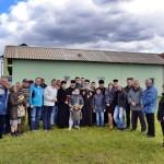 Владика Давид посетио место за нову цркву у Кошевима и градилиште на Багдали