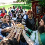 Света Литургија и Литија на Духовски понедељак у Покровској цркви на Расини