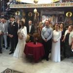Литургијско венчање у Покровској цркви на Расини у Крушевцу