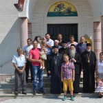 Епископ Давид посетио цркву светог Георгија у Читлуку код Крушевца