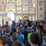 Литургијска катихеза у цркви свете Петке у Шанцу