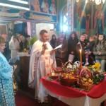 Васкрсење Господње у храму Свете Тројице у Ломници