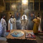 Света Архијерејска Литургија у манастиру св. Петра и Павла у Грабову