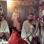 Света Литургија у цркви Светих Козме и Дамјана у Крушевцу