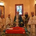Освештана новосаграђена црква-брвнара у Мајдеву