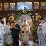 Света Литургија у Покровској цркви на Расини