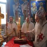 Света Архијерејска Литургија у Читлуку код Крушевца