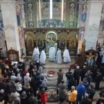 У суботу и недељу Епископ Давид служио у Саборној цркви у Крушевцу