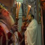 Света Архијерејска Литургија у Саборној цркви у Крушевцу на Оданије празника Рођења Господа Исуса Христа