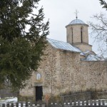 Владика Давид служио у манастиру Лепенац код Бруса