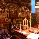 Литургија пређеосвећених Дарова у Покровској цркви на Расини