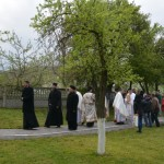 Лазарева субота- Света Архијерејска Литургија у Обрежу (Врденовац)