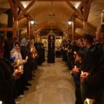 Велики петак у манастиру Лешје код Параћина