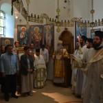 Света Архијерејска Литургија у цркви Лазарици