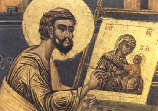 10.18_sv_Luka_writing_icon_Moraca_Monastery