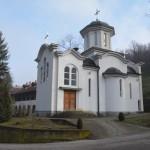 Владика Давид на празник Света Три Јерарха служио Свету Литургију у манастиру Мрзеница
