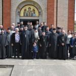 Света Архијерејска Литургија на Васкршњу среду у Парцану