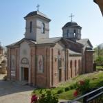 Света Архијерејска Литургија у манастиру светог Луке на Светлу суботу