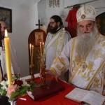 Света Архијерејска  Литургија  на Спасовдан у селу Претрковац