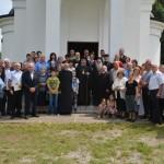 Освећење храма Светог Вазнесења Господњег у Глободеру код Крушевца