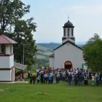 Света архијерејска Литургија у Риђевштици