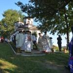 Владика Давид освештао цркву светог Јована Крститеља у селу Гаглову код Крушевца