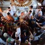 Света архијерејска Литургија у Лучини на дан светог великомученика Пантелејмона