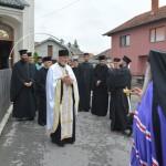 Бденије уочи Успенија Пресвете Богородице у Покровској цркви на Расини