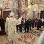 Света архијерејска Литургија у Саборној цркви у Крушевцу