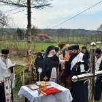 Освештани крстови за нови храм светог Николе у Буковици