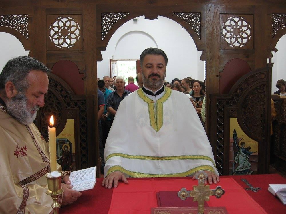 Sveta Liturgija u Globoderu- Spasovdan