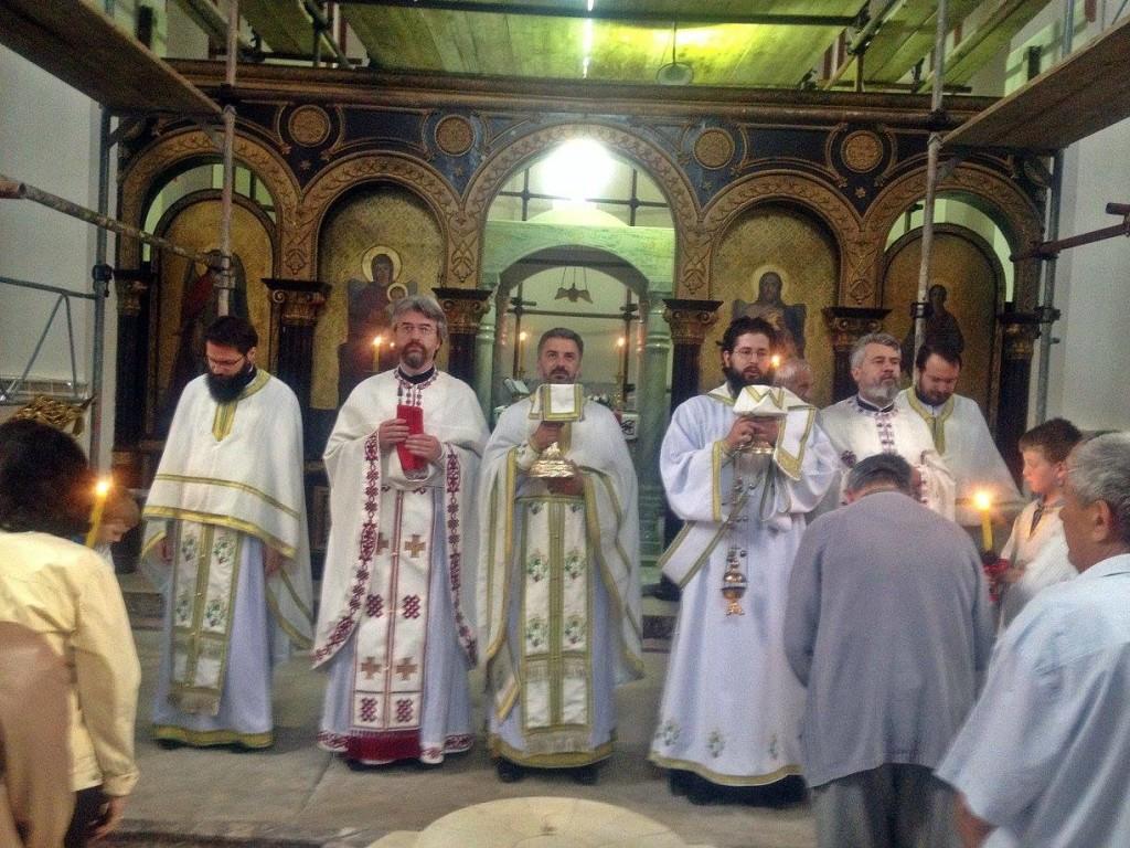Sveti Kirilo i Metodije u Sabornoj crkvi u Krusevcu