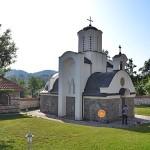 Владика Давид служио Свету Литургију у манастиру Плеш