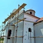 Владика Давид обишао радове на црквама у Крушевцу