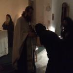 Свеноћно бденије у манастиру Светог Илије код Велике Дренове