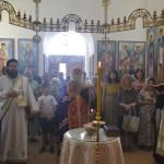 """Епископ Давид служио парастос жртвама """"Олује"""" у цркви Лазарици"""