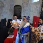 Света Архијерејска Литургија у манастиру Љубостињa