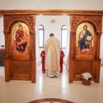 Света Литургија на празник Сабора светог Архангела Михаила у цркви на Багдали