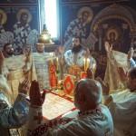 Епископ Давид служио у Покровској цркви на Расини другог дана Божића