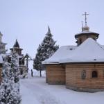 Света Литургија у манастиру Лешје на Крстовдан