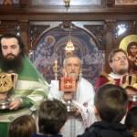 Света Литургија на празник Светог Саве у цркви на Расини