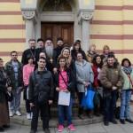 """Деца из Центра """"Дуга"""" посетила Епископа Давида"""
