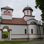 Света Литургија на Велику суботу у манастиру светог Илије у Великој Дренови