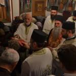 Света Тајна Јелеосвећења у цркви Лазарици на Велики уторак