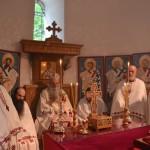 Литургија на Велики чeтвртак у цркви Лазарици