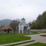 Епископ крушевачки Давид служио је Литургију у манастиру светих бесребреника Козме и Дамјана у Плешу