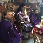 Пређеосвећена Литургија у Покровској цркви на Расини