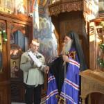 Бденије уочи славе Источни Петак у Покровској цркви на Расини