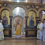 Света Архијерејска Литургија у Саборној цркви