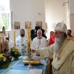 Пет година Архијерејске службе Владике Давида литургијски прослављено у манастиру Мрзеница